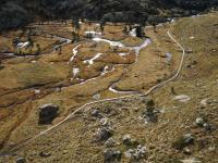 Torberes dels Plans de Sotllo després de la construcció del sender